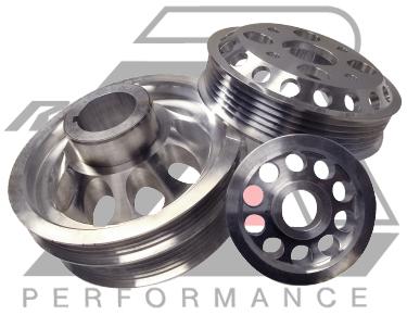 Ralco RZ 914922 Performance Pulleys fit Pontiac Vibe 02-05 1.8L DOHC 16V