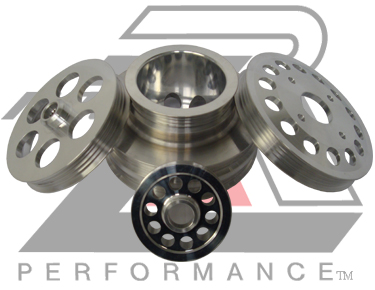 Ralco RZ 914911 Performance Pulleys fit Lexus GS 300 98-03 3.0L DOHC 24V IS 300